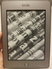 Amazon Kindle Touch (4th Gen.) 4GB, 3G + Wi-Fi, 6in - Silver; TESTED & UPDATED
