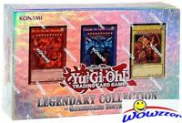 Yugioh LEGENDARY COLLECTION 1 Factory Sealed Gameboard Edition Gods Cards LC01