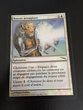 MTG MAGIC MIRRODIN BLINDING BEAM (FRENCH RAYON AVEUGLANT) NM FOIL