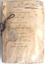 "RARE War of 1812 Orig Documents NAVY Decatur Madison Monroe ""Little Belt"" Affair"