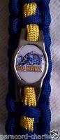 Navy Midshipman Navy & Gold Paracord Lanyard or Paracord Bracelet