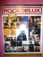 MAGAZINE ROCKDELUX 280 + CD - DOMINIQUE A - ILEGALES - ESPLENDOR GEOMETRICO