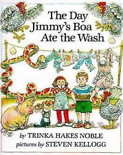 The Day Jimmy's Boa Ate the Wash-ExLibrary