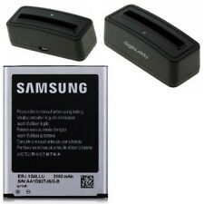 Batterie Pile Samsung EB-L1G6LLU + Station de Charge Galaxy S3 Neo (GT-i9301)