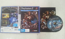 Gauntlet Seven Sorrows Sony PlayStation 2 PS2 PAL Version