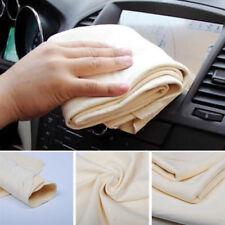 1 Stück Waschen Ledertuch Auto Lackpflege Autoleder Fensterleder Lederlappen Neu