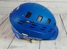 SMITH OPTICS VARIANT BRIM SKI SNOWBOARD HELMET SIZE S Blue 51-55 cm