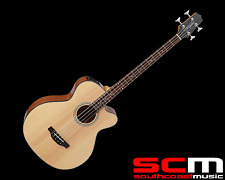 RRP$899 Takamine GB30 CENAT Acoustic Electric Bass Guitar With Pickup Natural