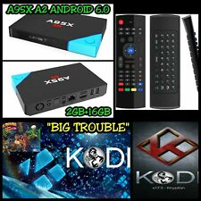 A95X A2 4K Android 6.0 TV BOX 2GB+16GB + MX3 WIRELESS AIR MOUSE REMOTE (S912)