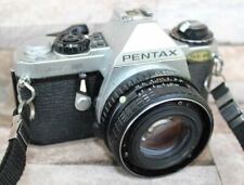 Pentax ME Super 35mm Film Camera With Case, Receipt and Brochures