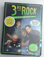 3rd Rock from the Sun: Season 3,NEW DVD Set.1997(2006) John Lithgow/Jane Curtin