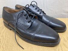 Harrods Black Leather Mens Lace Up Shoes U.K. Size 7