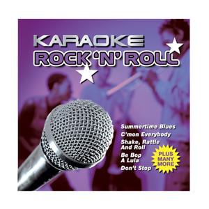 Karaoke Rock N Roll Classic Sing Along Party CD Album - Gift Idea - Superb songs