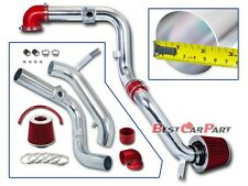 BCP RED 00-03 Ford Focus 2.0L L4 Cold Air Intake Racing System + Filter