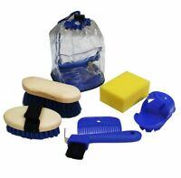 Showman Kids 6 Piece Pony Grooming Kit w/ Carrying Bag