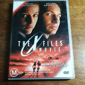 The X Files Movie DVD R4 LIKE NEW FREE POST