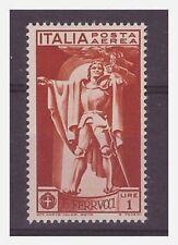 REGNO 1930  -  FERRUCCI  POSTA AEREA  LIRE 1    NUOVO  **