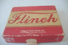 ~FLINCH~A GAME BY A.J. PATTERSON~PARKER BROTHERS~COPYRIGHT 1938~