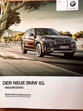 Prospekt BMW F15 X5 xDrive35i xDrive50i xDrive25d xDrive30d xDrive40d M50d 2013