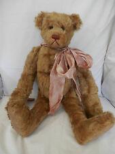 """BEN"" 18"" Caramel Heidi Bear by Hillary Hulen"
