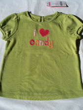New GYMBOREE I LOVE CANDY Tee - Size 4
