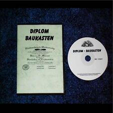 DIPLOM Baukasten (Schule,Ausbildung,Beruf) Reseller *