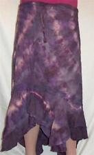 FAIR TRADE GRINGO HIPPY BOHO ETHNIC CALF LENGTH FESTIVAL TIE DYE SKIRT S/M