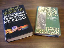Once a Warrior King & A Bright Shining Lie Lot 3 - Lot of 2