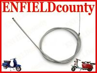 NEW LAMBRETTA SCOOTER COMPLETE FRICTION FREE FRONT BRAKE CABLE @ECspares