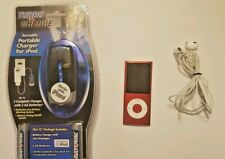 Apple iPod nano 4th Generation PRODUCT RED 8 Gb (Bundle)headphones/battery pac