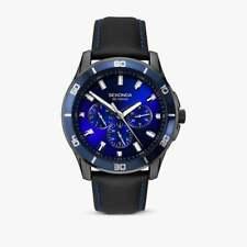 Sekonda Men's Midnight Blue Strap Watch 1634