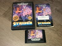 Strider Sega Genesis Complete CIB Cleaned & Tested Authentic
