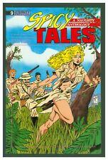 Spicy Tales #9 VF 1989 Eternity Comics  GGA Headlight Jungle Cover
