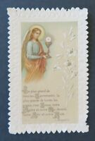 CANIVET Guérin Boutron Sacrement Image Pieuse HOLY CARD 19thC Santino 6