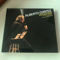 Alberto Cortez Acustico Madrid 2cd Digipack New Sealed Limited Edition 2008