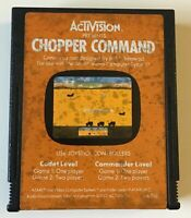 Vintage Atari 2600 Chopper Command Video Game Cartridge