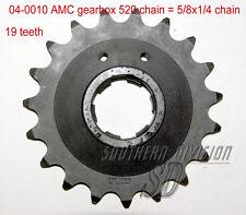AMC gearbox sprocket 19 teeth Norton Ritzel 520 chain 5/8x1/4 Dominator ES2