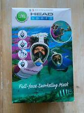 Head Sport by Ocean Reef Full Face Snorkel Scuba Mask Sz Large/ Xlarge New $75