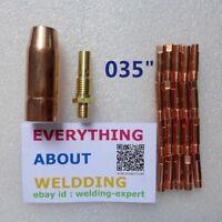 035 Tip 21-50 Nozzle KP35-50 KP2040-1 fits Tweco Mini/#1 Lincoln Magnum 100L