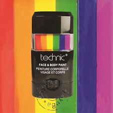 Technic Face & Body Paint Stick Panstick - Bright Limited Edition Rainbow, Pride