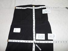 Ingrid & Isabel Active Legging with Crossover Panel Pant BLACK L-NWOT $88