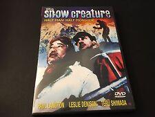 Snow Creature (DVD, 2004)