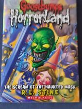 GOOSEBUMPS HORRORLAND #4 Scream of the Haunted Mask MORE RLSTINE BOOK IN STORE