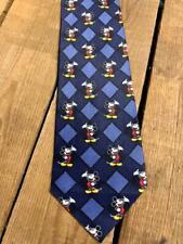Vintage 100% Silk ºoº Mickey Mouse in Classic Pose ºoº Necktie Tie