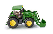 Wiking John Deere 7280R Tractor With Front Loader Die-Cast Model toy 1:87 Scale
