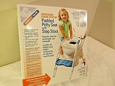 Mommy's Helper Padded Potty Seat with Step Stool - NEW!!