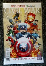 Marvel Civil War #1 PX Exclusive SDCC Mini Mates Variant 2015