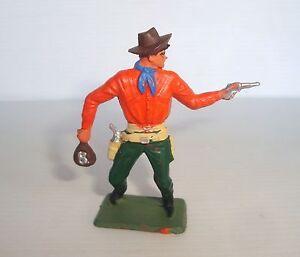 Figurine Old Starlux Series Farwest 64: Cow Boy Gun And Purse Ref 5125