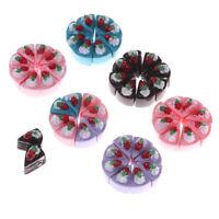 10PCS DIY Miniature Artificial Fake Food Cake Resin Decorative Dollhouse TOY  P
