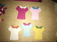 • • • Die Cuts ~ T~SHIRTS x12 ~ 2 Styles ~ Stampin Up C/S ~ Cards, Scrapbooking